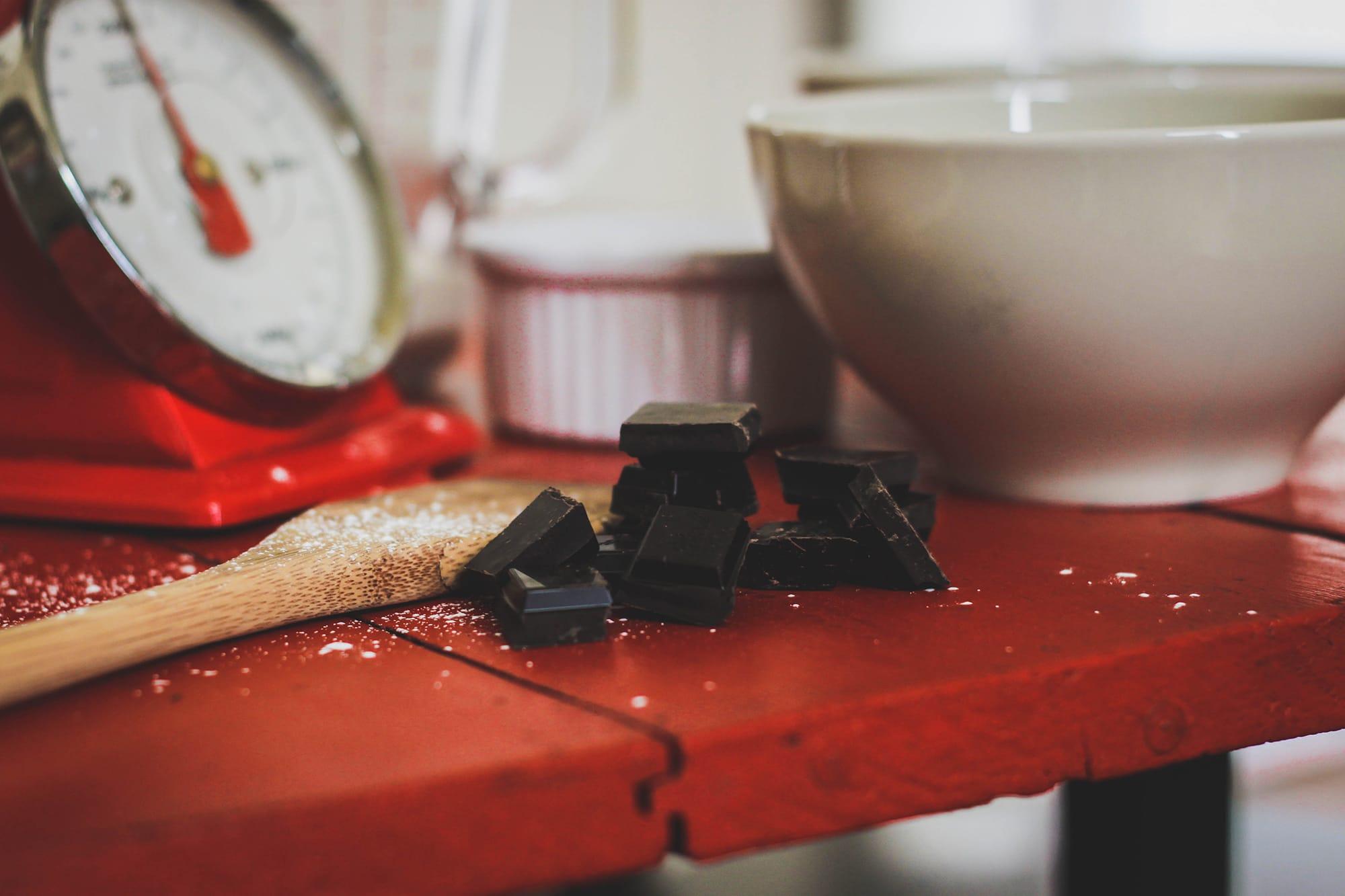 Brioche zébrée au chocolat & à la framboise