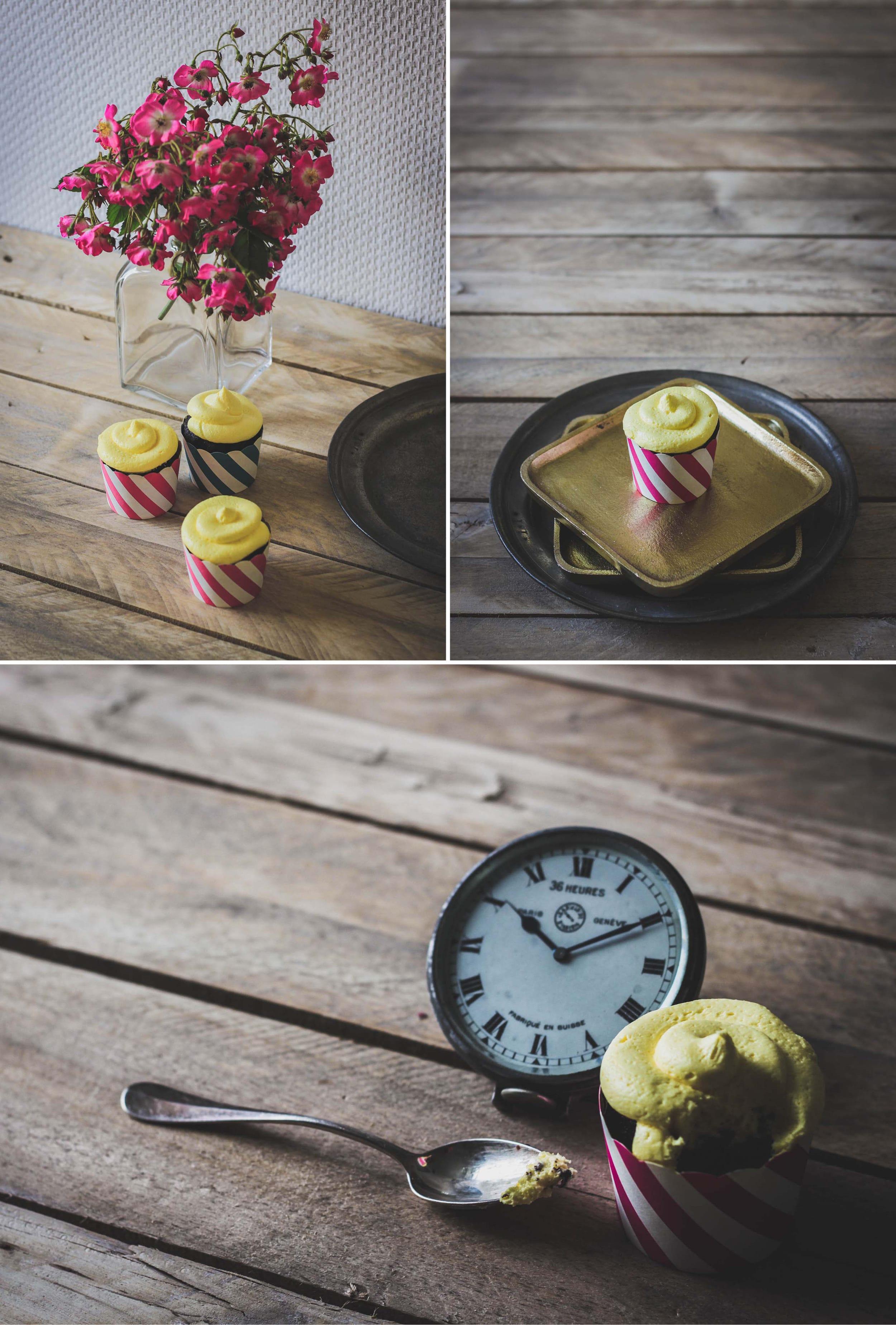 Cupcakes choco/citron