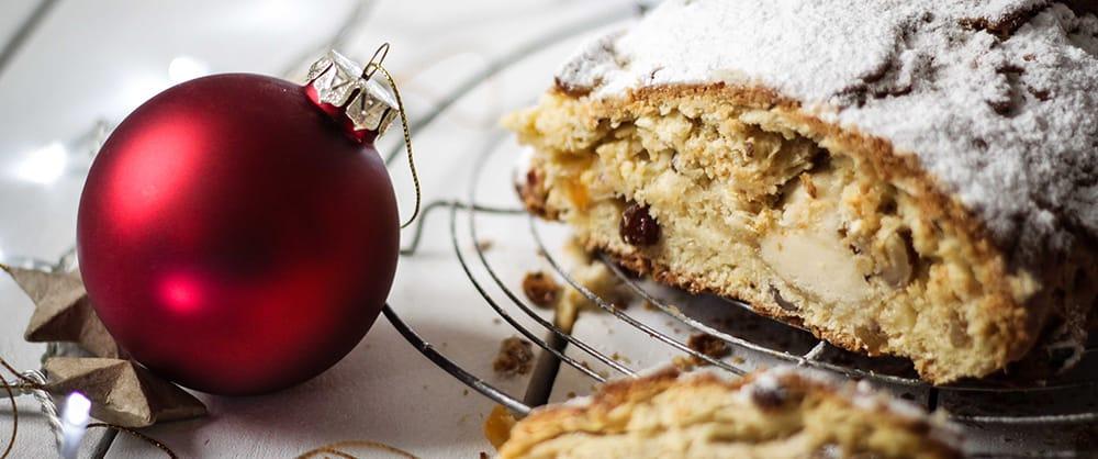 Stollen, pain brioché de Noël