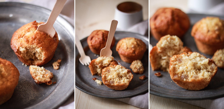 Muffins gingembre citron confit