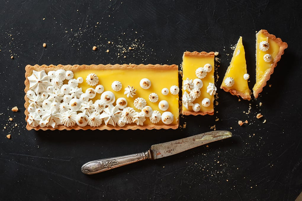 Bigoût / recette de tarte fruits de la passion meringuée