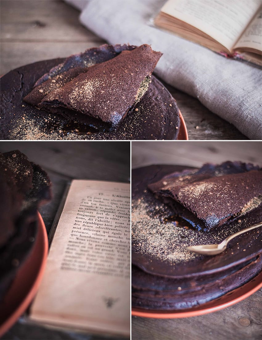 Galettes de sarrasin au cacao