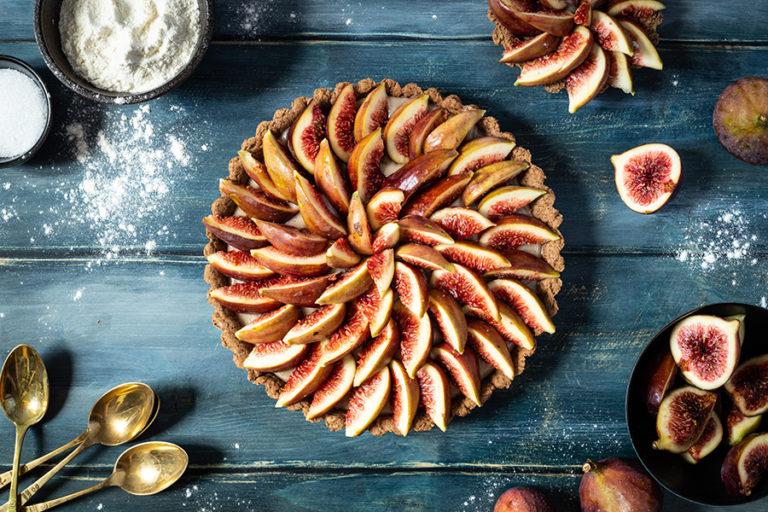 CapucineDinochau-Bigout-photographe culinaire-Lyon-recette de tarte figue et noisette